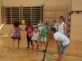 Badminton Training Volksschule